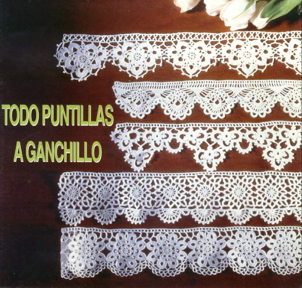 Lujo Patrones De Ganchillo Para Los Bordes Festooning - Manta de ...