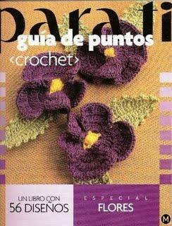 Para ti Guía de Puntos Crochet