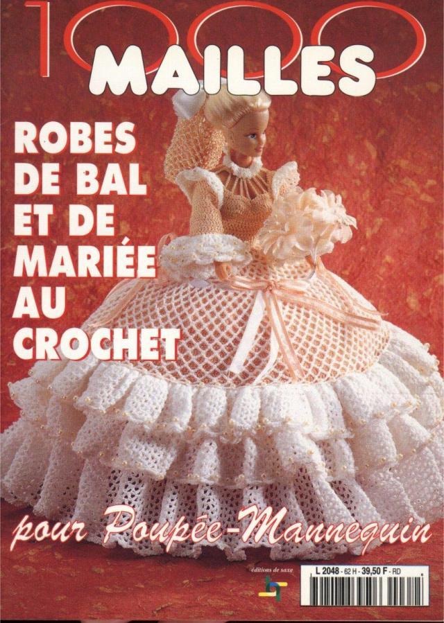 Robes  De  Dall  Et  De  Mariee  Au Crochet      1