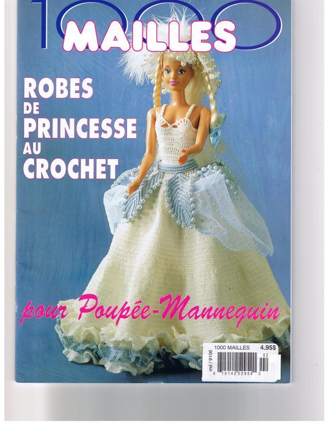 Robes  De  Princesse  Au  Crochet     1